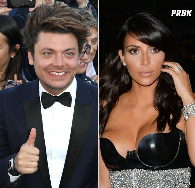 Kev Adams se moque de l'agression de Kim Kardashian sur Instagram
