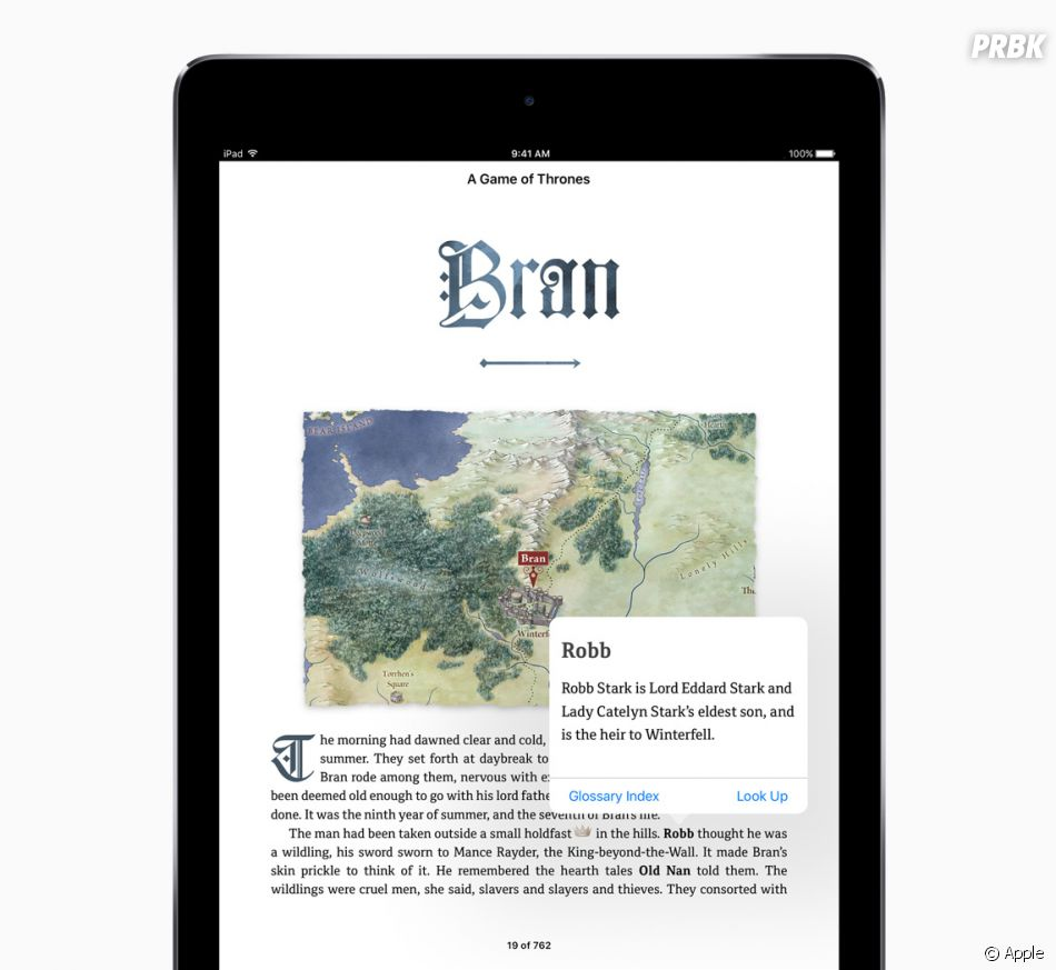 Game of Thrones on iBooks