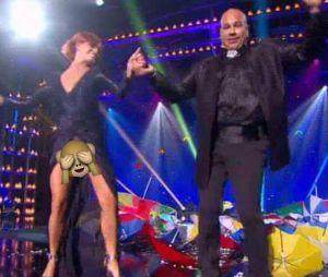 Fauve Hautot : sa culotte dévoilée dans Le Plus grand cabaret du monde sur France 2 le samedi 22 octobre 2016