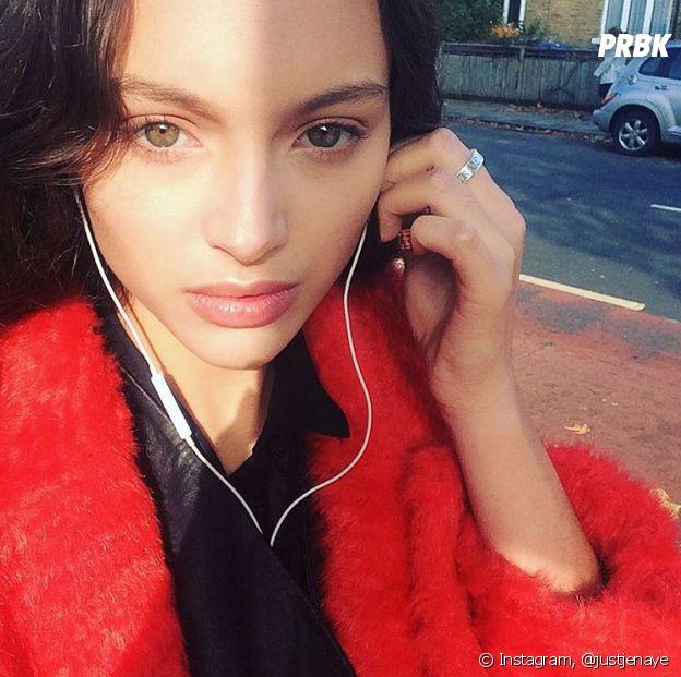 Jenaye : la fille de Yannick Noah a tout d'un grand mannequin.
