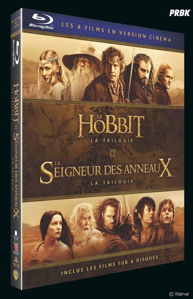 Le coffret Middle Earth.