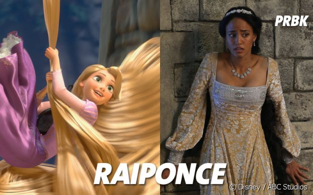 Once Upon a Time VS Disney : Raiponce