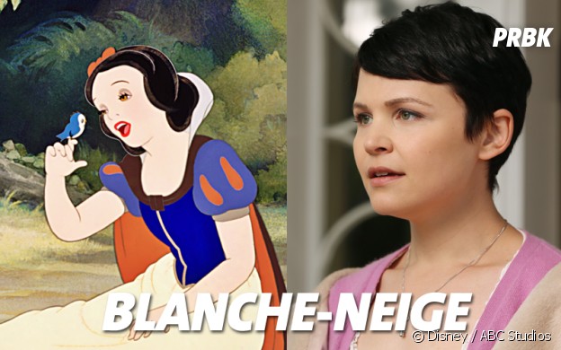 Once Upon a Time VS Disney : Blanche-Neige