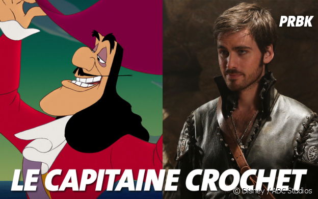 Once Upon a Time VS Disney : Le Capitaine Crochet