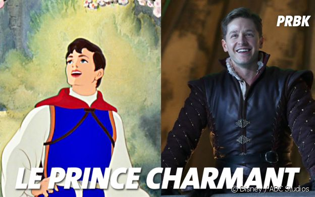 Once Upon a Time VS Disney : Le Prince Charmant