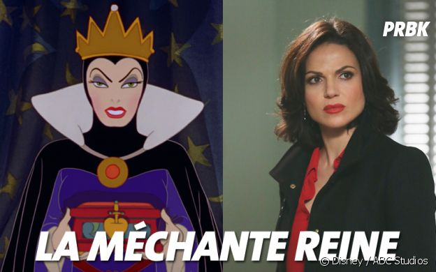 Once Upon a Time VS Disney : La méchante reine