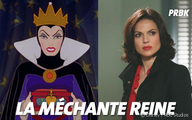 Once Upon a Time VS Disney : La méchante reine