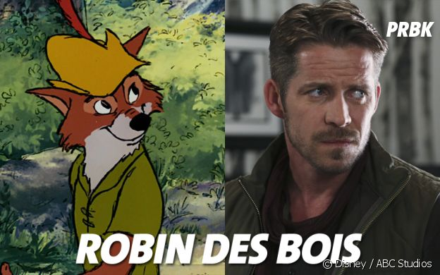 Once Upon a Time VS Disney : Robin des Bois