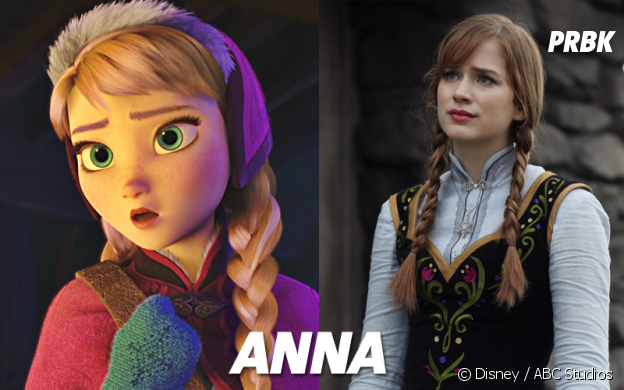 Once Upon a Time VS Disney : Anna