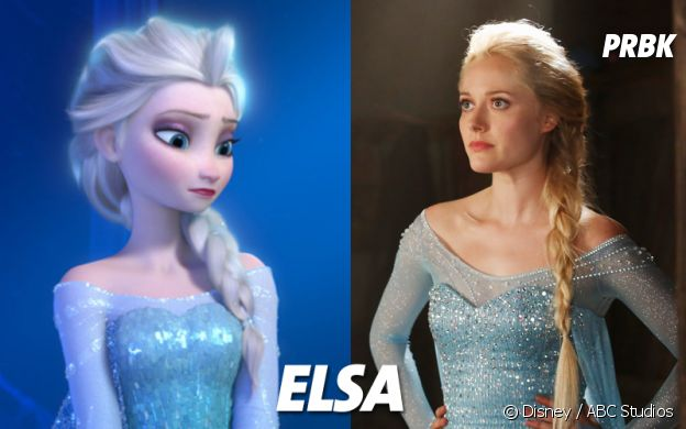 Once Upon a Time VS Disney : Elsa