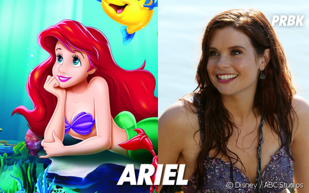 Once Upon a Time VS Disney : Ariel
