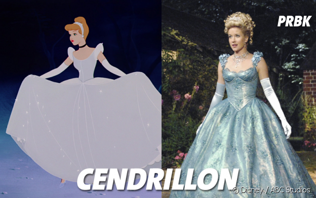 Once Upon a Time VS Disney : Cendrillon