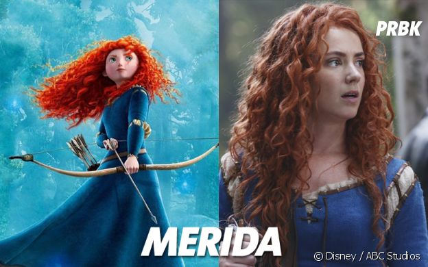 Once Upon a Time VS Disney : Merida
