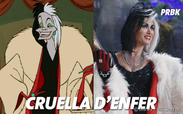 Once Upon a Time VS Disney : Cruella d'Enfer