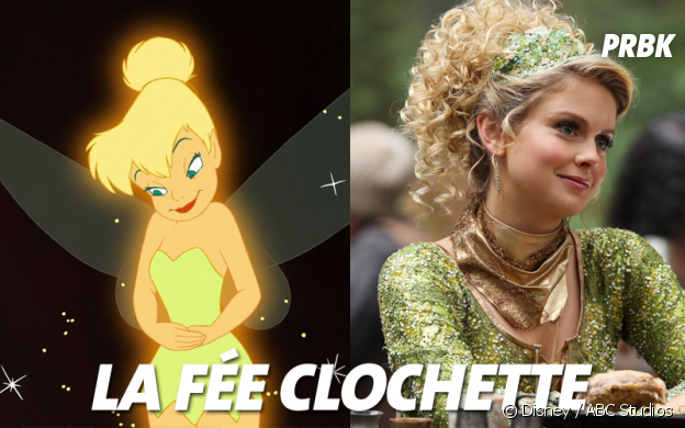Once Upon a Time VS Disney : La fée Clochette
