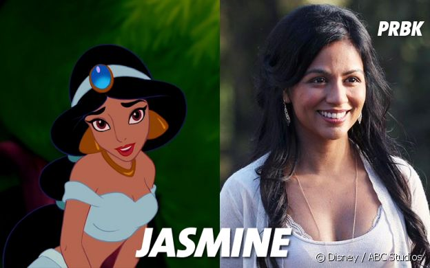 Once Upon a Time VS Disney : Jasmine