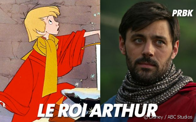 Once Upon a Time VS Disney : Le Roi Arthur