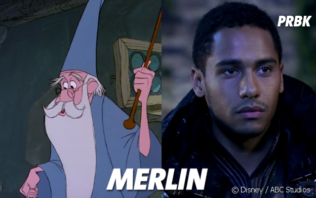 Once Upon a Time VS Disney : Merlin