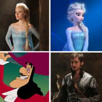 Once Upon a Time VS Disney : les personnages dans la série et dans les films