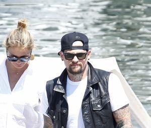 Cameron Diaz et son mari Benji Madden