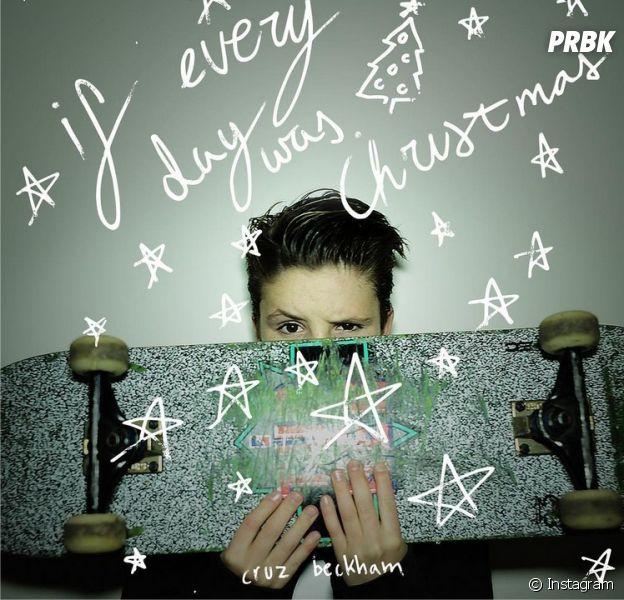 Cruz Beckham dévoile son premier single pour Noël