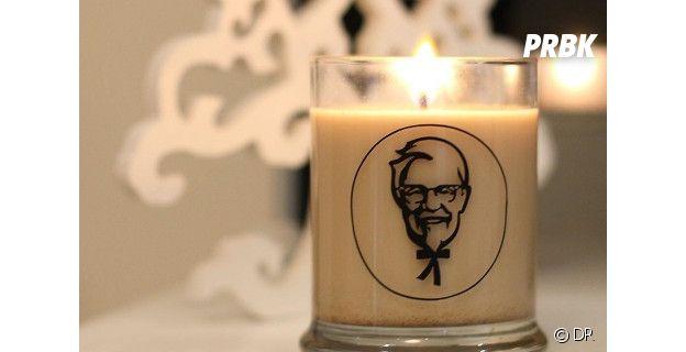 La bougie KFC au poulet grillé