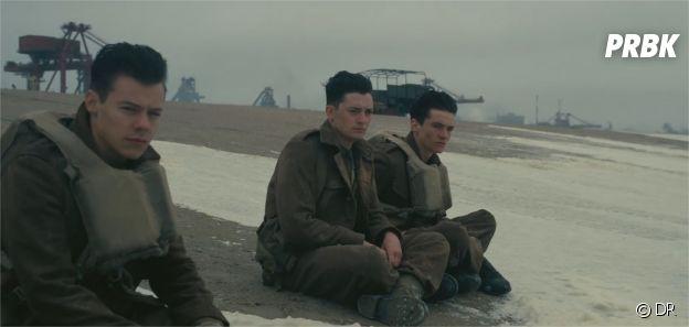 Harry Styles dans la bande-annonce de Dunkerque