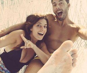 Laetitia Milot et son mari Badri en vacances aux Maldives en décembre 2016
