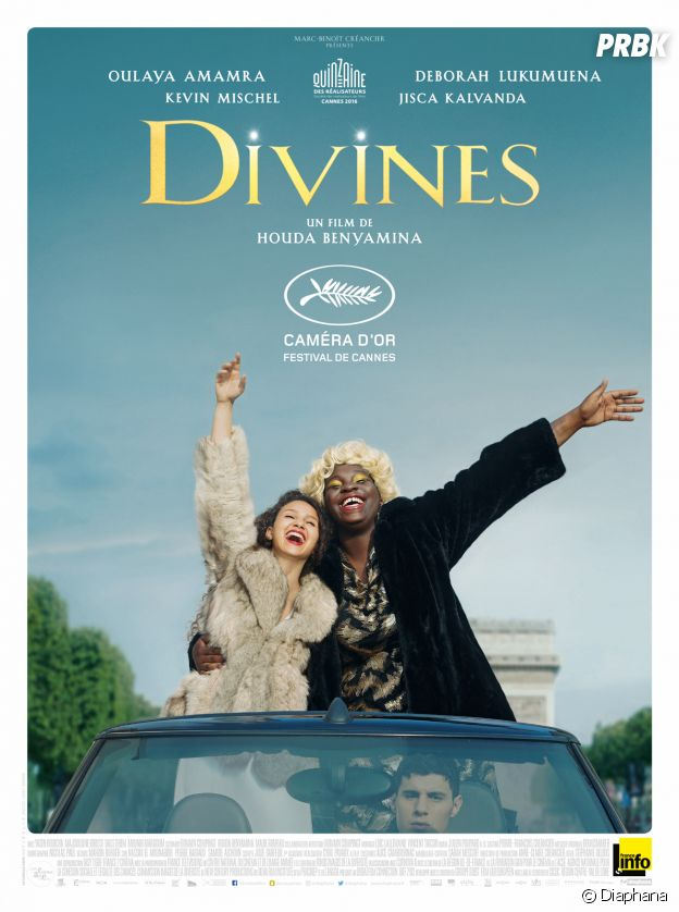 L'affiche du film Divines.