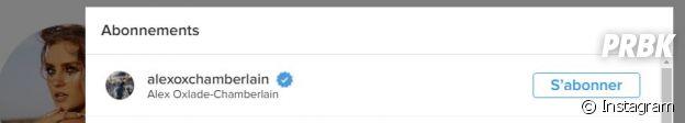 Perrie Edwards des Little Mix a suivi le footballeur Alex Oxlade-Chamberlain sur Instagram et sortirait avec lui.
