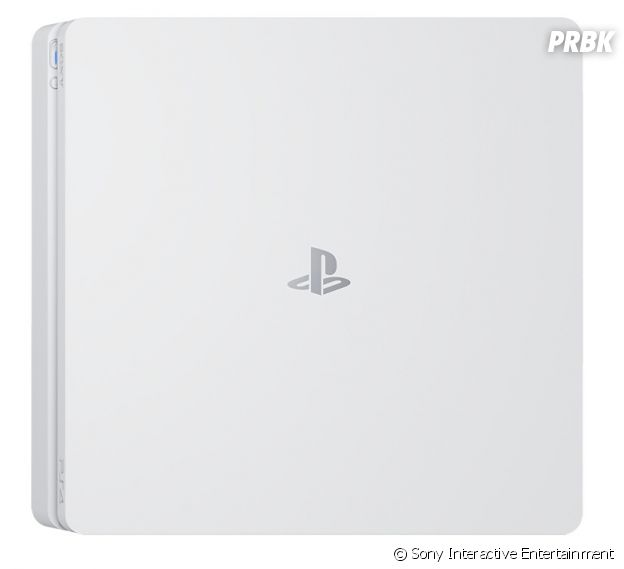 "PS4 Slim ""White Glacier"""