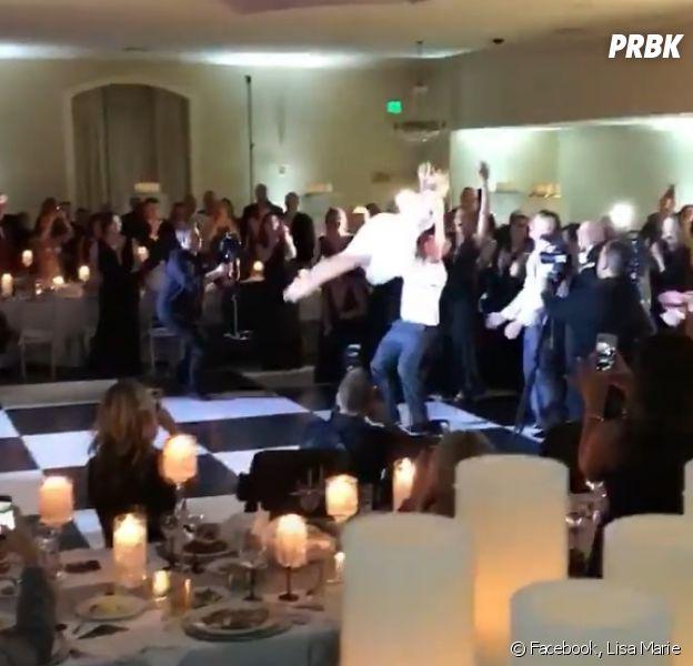 Ces mariés reproduisent à la perfection la danse finale de Dirty Dancing