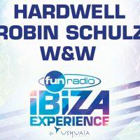 Fun Radio Ibiza Experience : Robin Schulz et Hardwell en concert le 14 avril