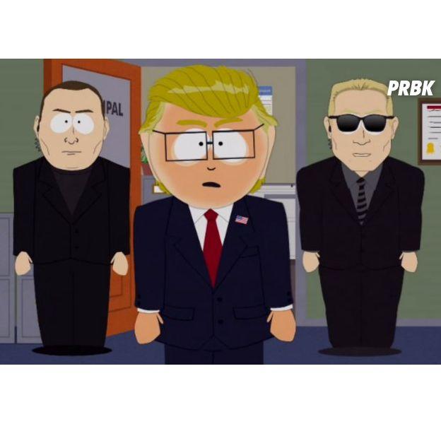 """South Park arrête de parodier Donald Trump : """"la satire est devenue la réalité"""""""