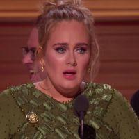 """Adele fait pleurer Beyoncé avec un discours touchant aux Grammy Awards : """"je t'aimerai toujours"""""""