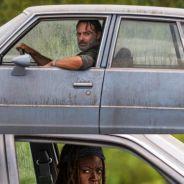 The Walking Dead saison 7 : Rick et Michonne façon Fast & Furious dans une scène sanglante