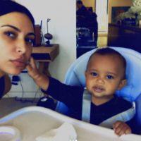 Kim Kardashian dévoile trois nouveaux selfies craquants avec son fils Saint West
