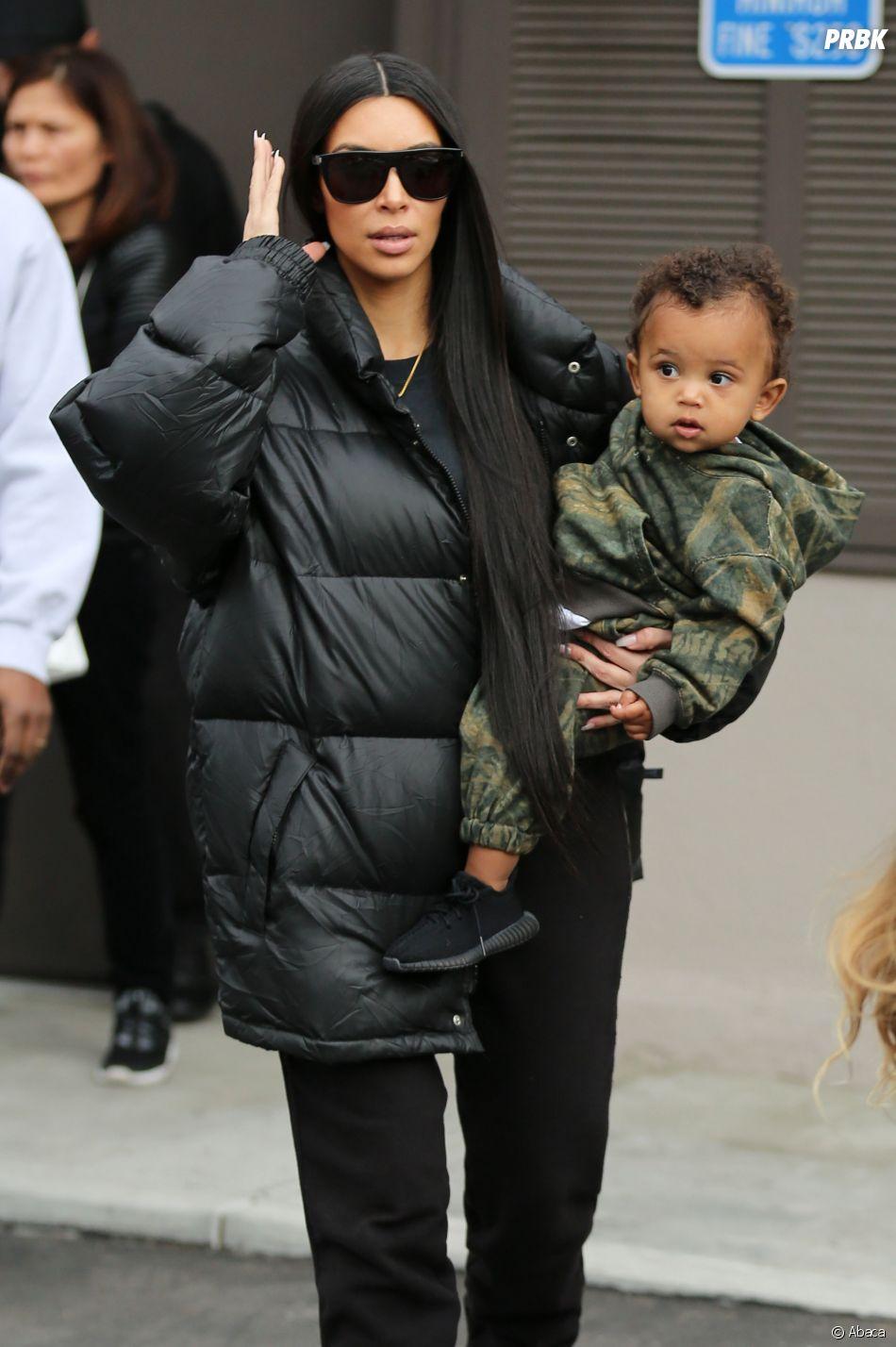 Kim Kardashian : maman poule avec son fils Saint West, elle dévoile des selfies inédits !