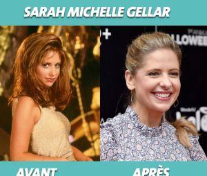 Sarah Michelle Gellar dans Buffy contre les vampires et aujourd'hui