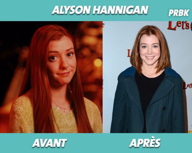 Alyson Hannigan dans Buffy contre les vampires et aujourd'hui