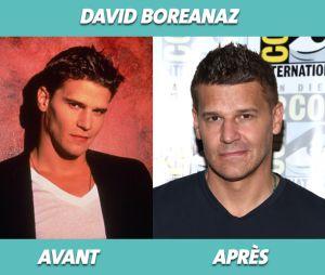 David Boreanaz dans Buffy contre les vampires et aujourd'hui
