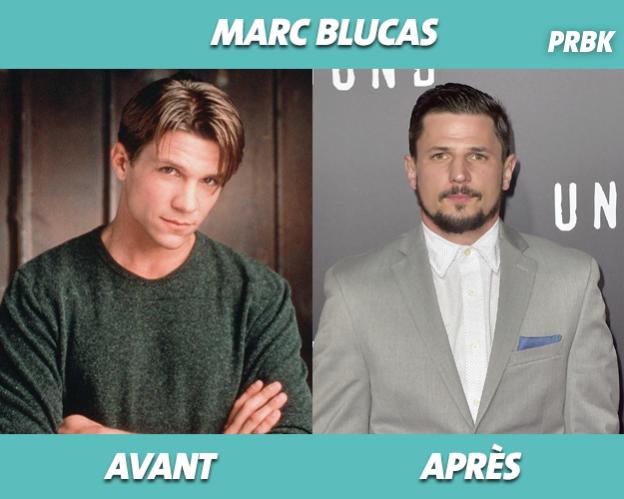 Marc Blucas dans Buffy contre les vampires et aujourd'hui