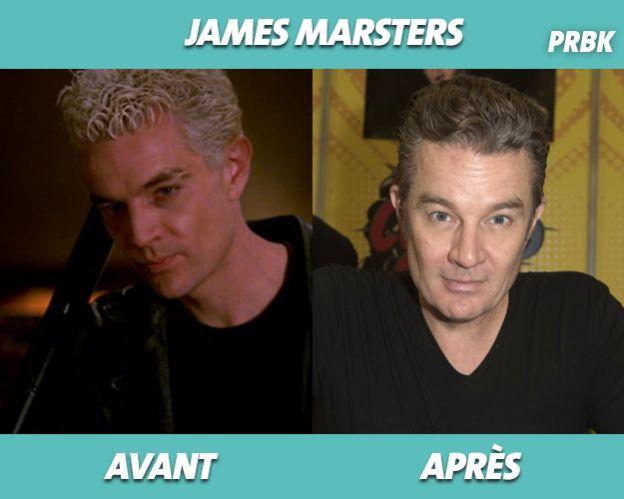 James Marsters dans Buffy contre les vampires et aujourd'hui