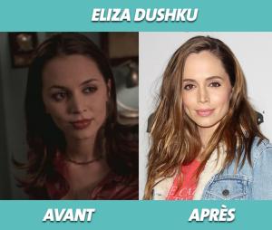 Eliza Dushku dans Buffy contre les vampires et aujourd'hui