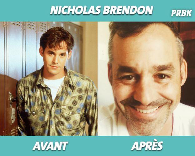 Nicholas Brendon dans Buffy contre les vampires et aujourd'hui