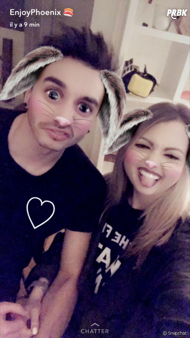 EnjoyPhoenix présente son petit ami sur Snapchat