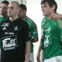 L'AS Saint Etienne ... les joueurs s'éclatent dans une publicité
