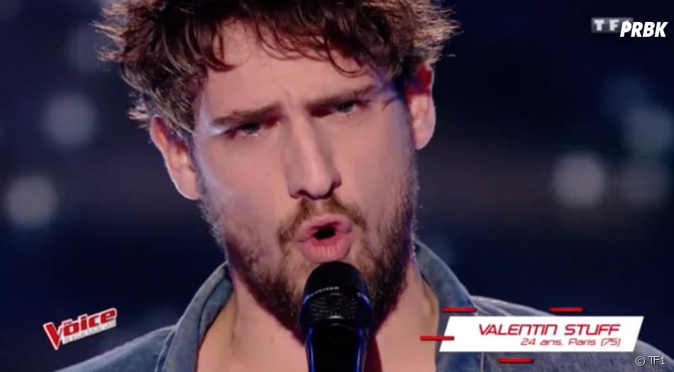The Voice 6 : Valentin intrigue avec sa voix grave