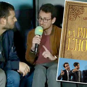 """Lolywood présente sa Bible de l'homme : """"C'est un livre pour les chiottes"""""""