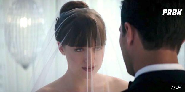 Fifty Shades Freed : première photo du mariage de Christian et Ana